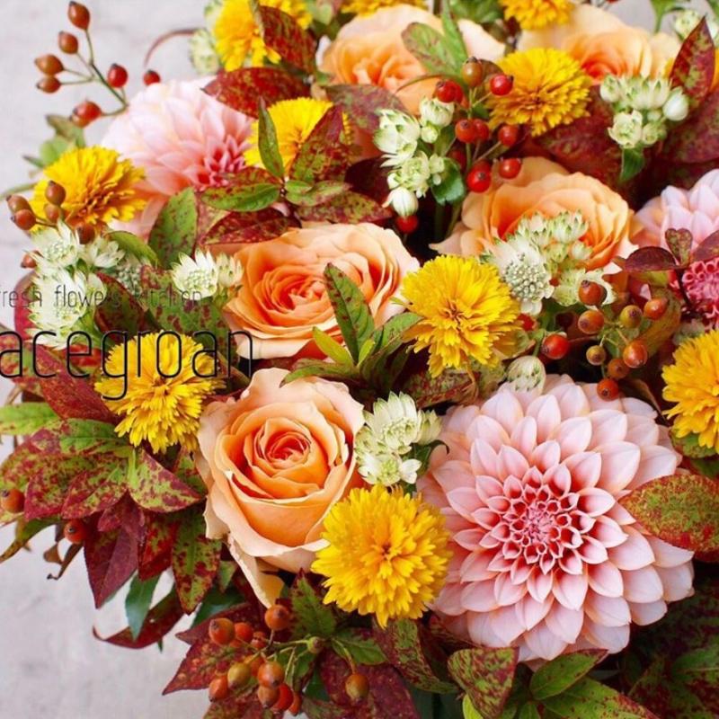 パリスタイルの花屋gracegroanのワークショップ・レッスン情報